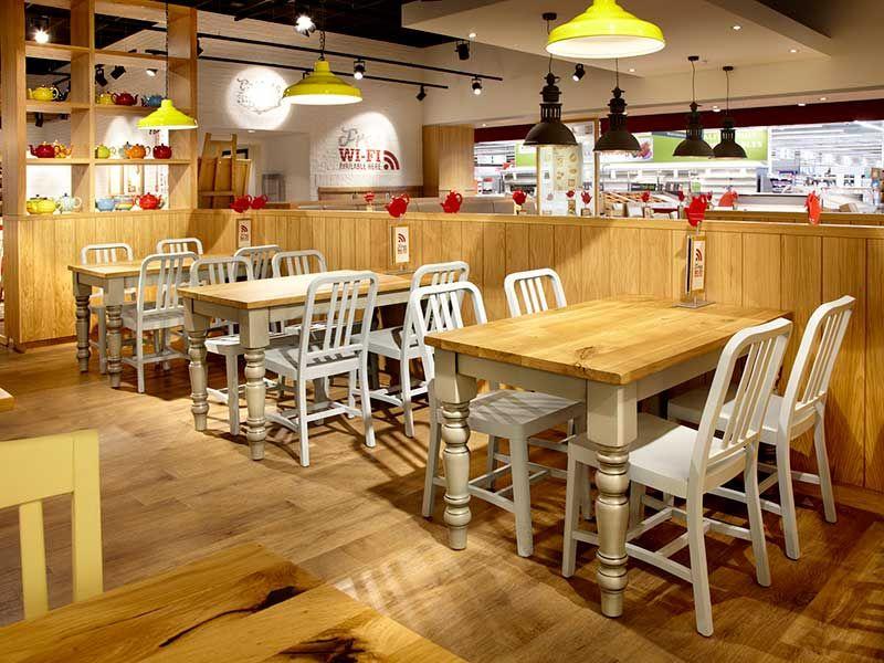 Captivating Morrisons, Crawley | Andy Thornton Restaurant Furniture Portfolio