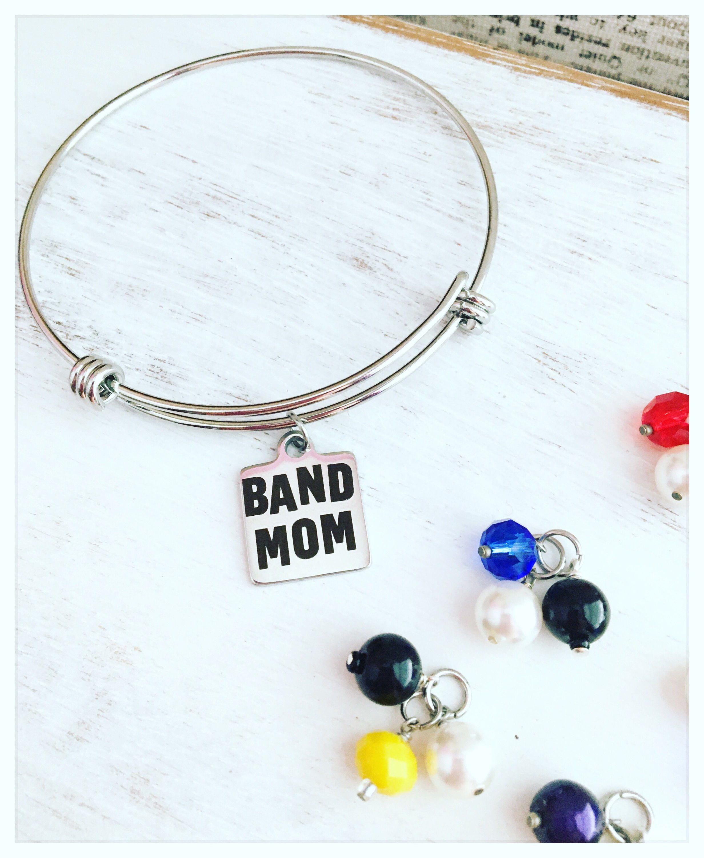 Band mom band mom charms band mom charm bracelet band mom