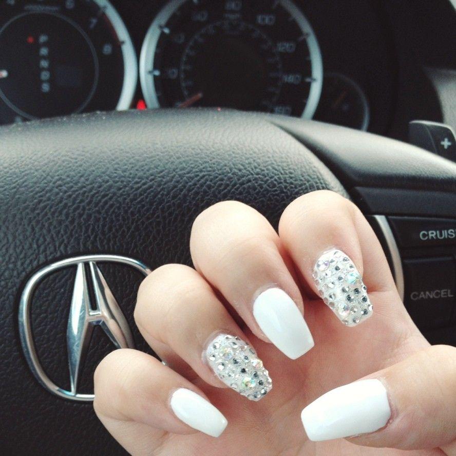 Uñas decoradas: puntas cuadradas - Uñas Pasión | nails | Pinterest ...
