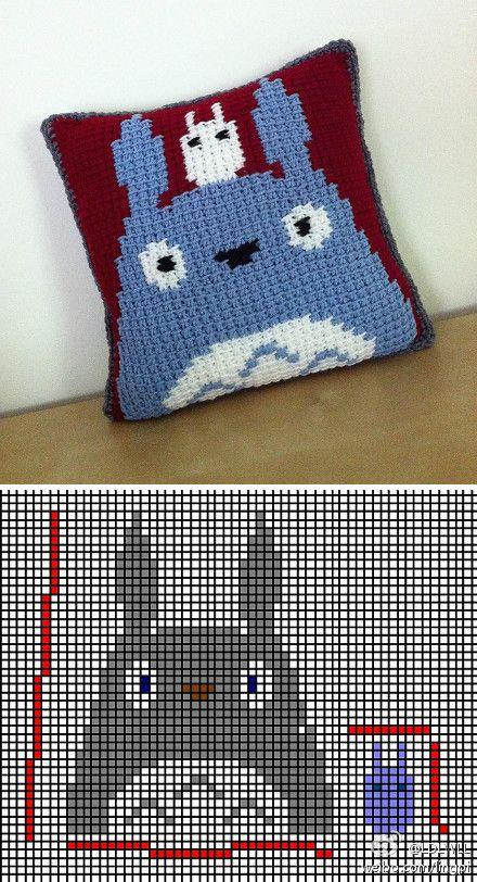 Surprise DIY   Crochet Fun :)   Pinterest   Totoro, Patrones y Punto ...