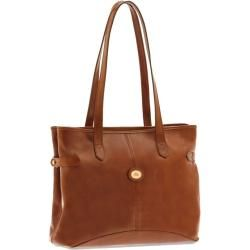 Photo of Handbag The Bridge Shopper smooth cowhide Story Donna – 048142.01 leather-brown The BridgeThe Br
