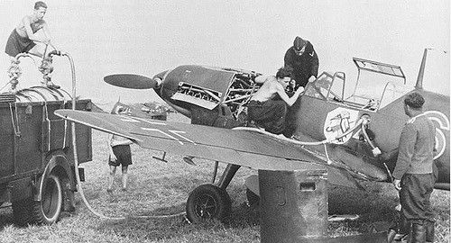 Bf 109 D1