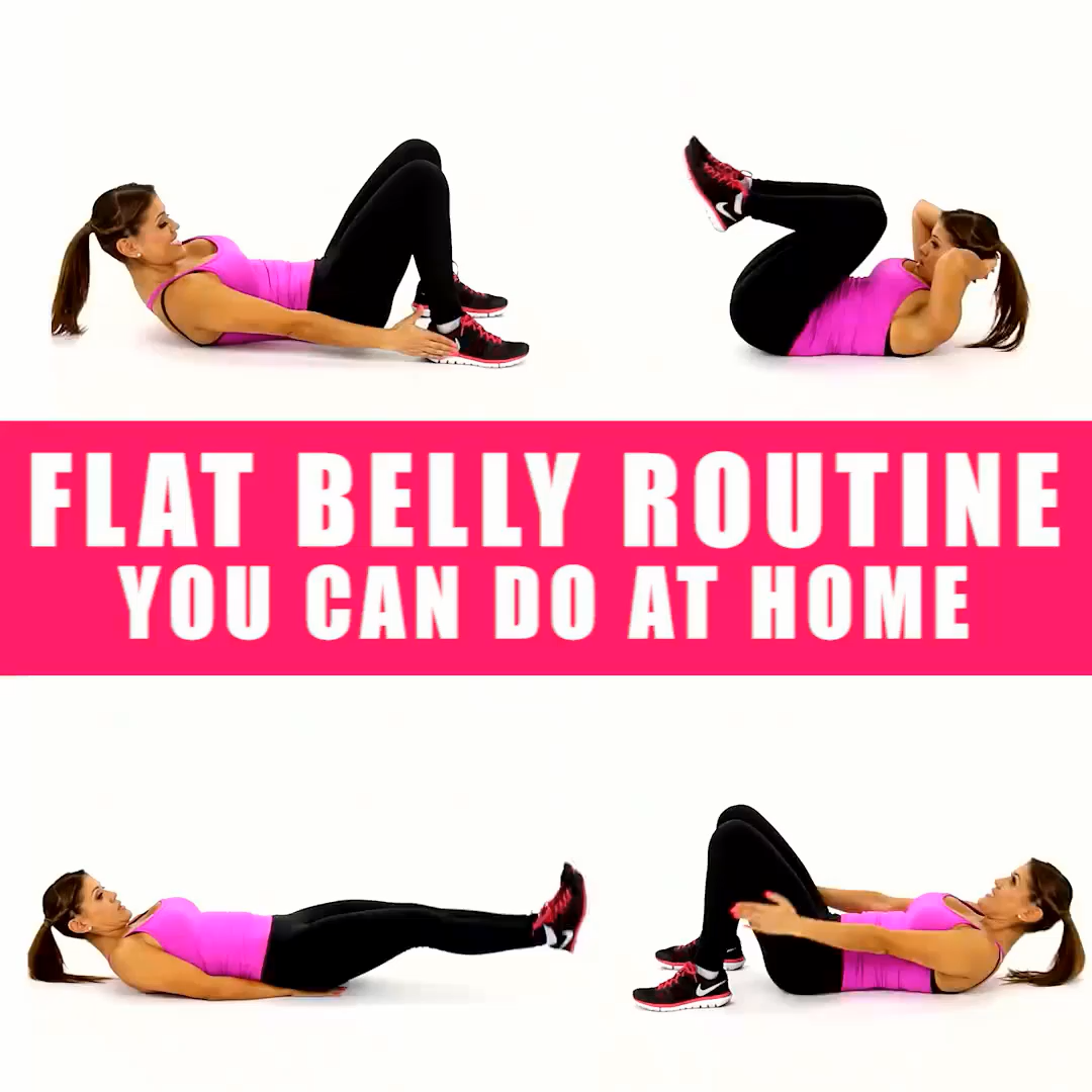Flat Belly Workout That You Can Do From Home 💪 #Gymshark #Gym #Fitness #Exercise #Fitness #Exercises...