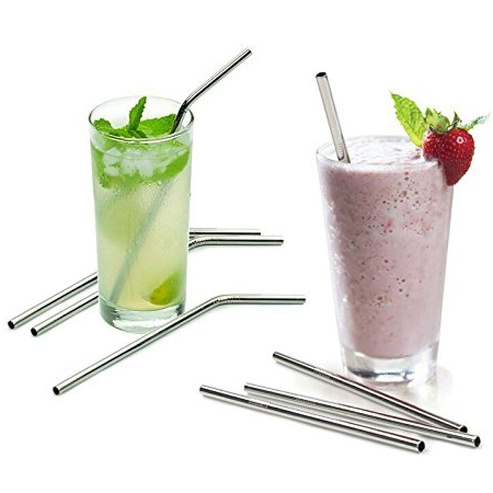 Stainless steel straws reusable drinking straw