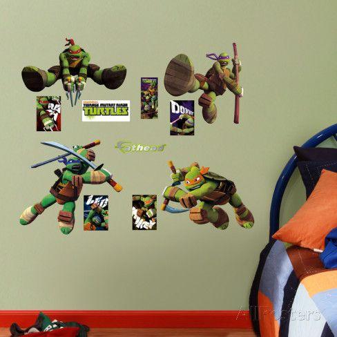 Teenage Mutant Ninja Turtles - Fathead Jr & Teenage Mutant Ninja Turtles - Fathead Jr | Ninjas Turtles and ...