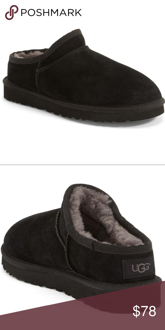 f55c4d57426 UGG Classic Water Resistant Slipper Brand new. No box. Tonal ...