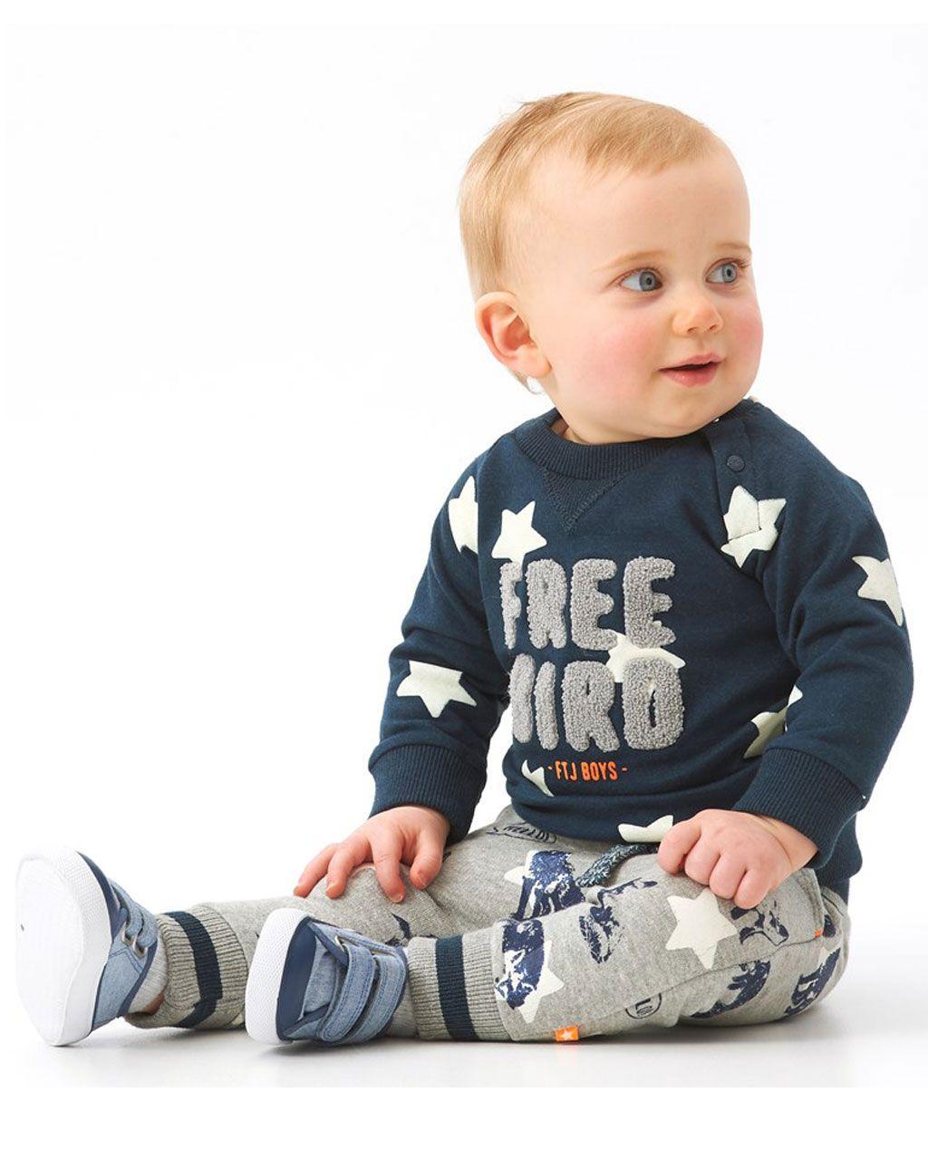 Feetje Babykleding.Feetje Broek Aop Adventure Jongens Broek Direct Leverbaar Uit De
