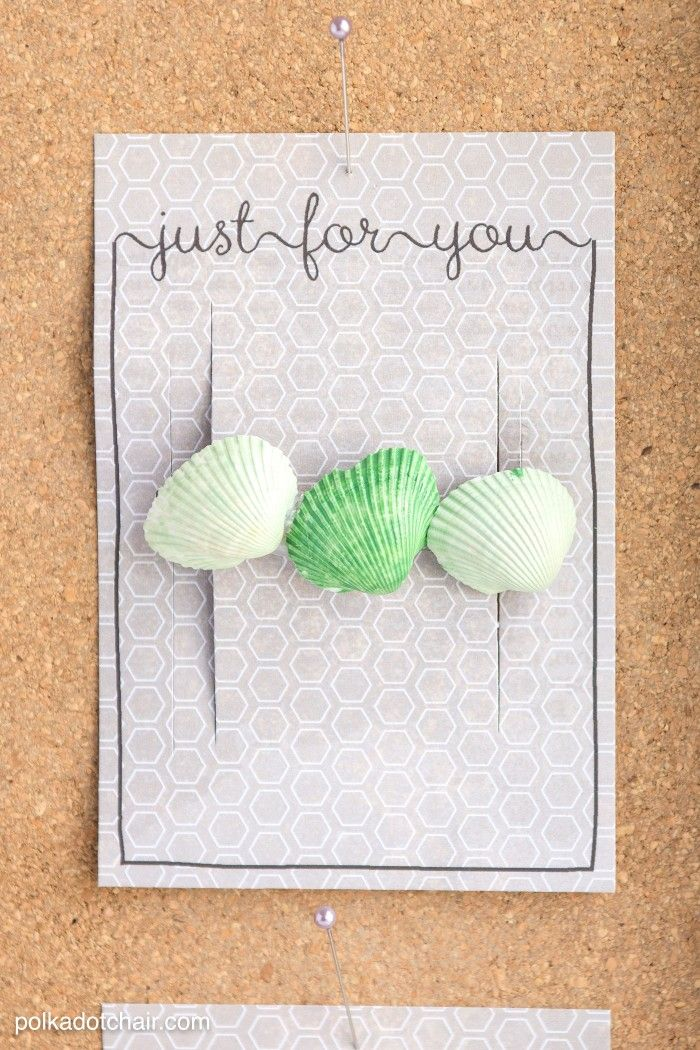 Seashell Crafts And Free Printable Gift Tags With Images Free Printable Gift Tags Seashell Crafts Crafts