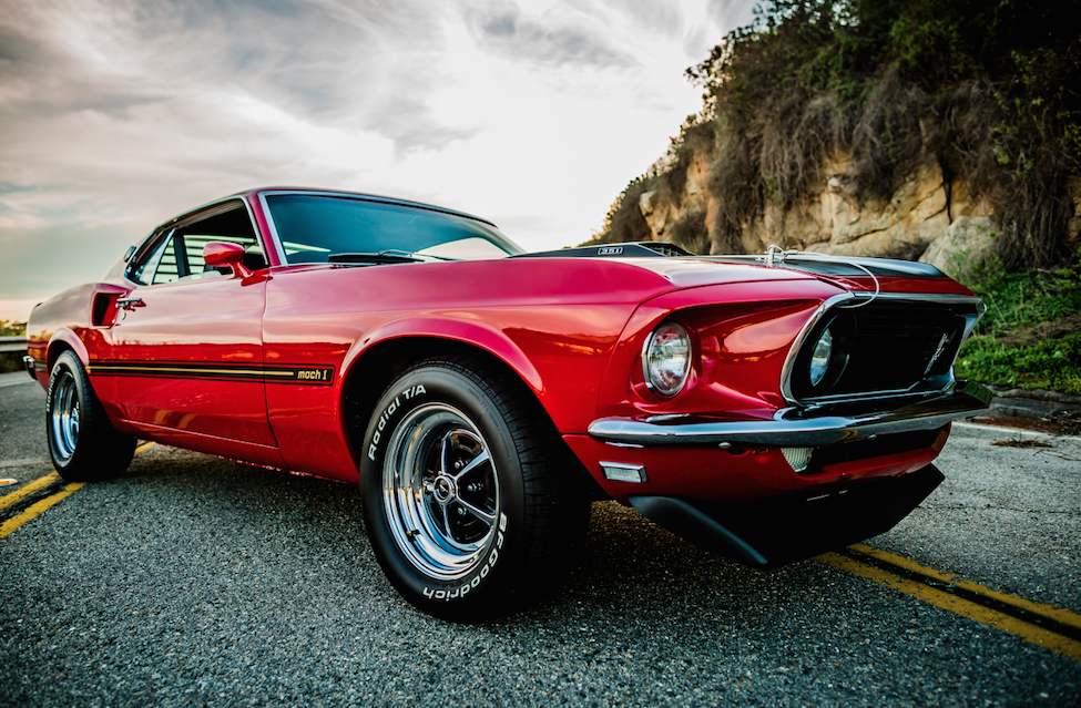 Cool Great 1969 Ford Mustang Mach 1 Red 2017 2018