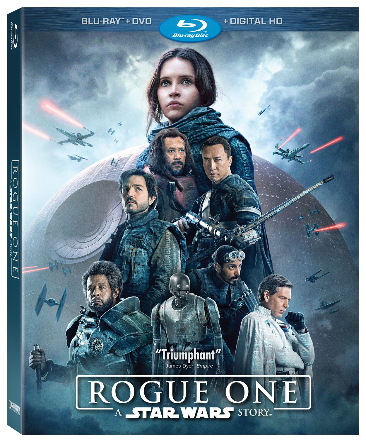 The Mission Comes Home Rogue One A Star Wars Story Arrives Soon On Digital Hd And Blu Ray Rogue One Star Wars War Stories Blu Ray Movies