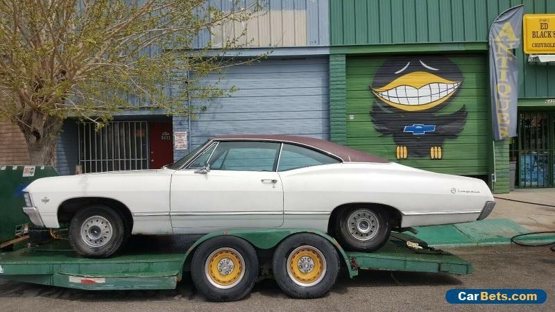 1967 Chevrolet Impala 2 Door Chevrolet Impala Forsale Canada