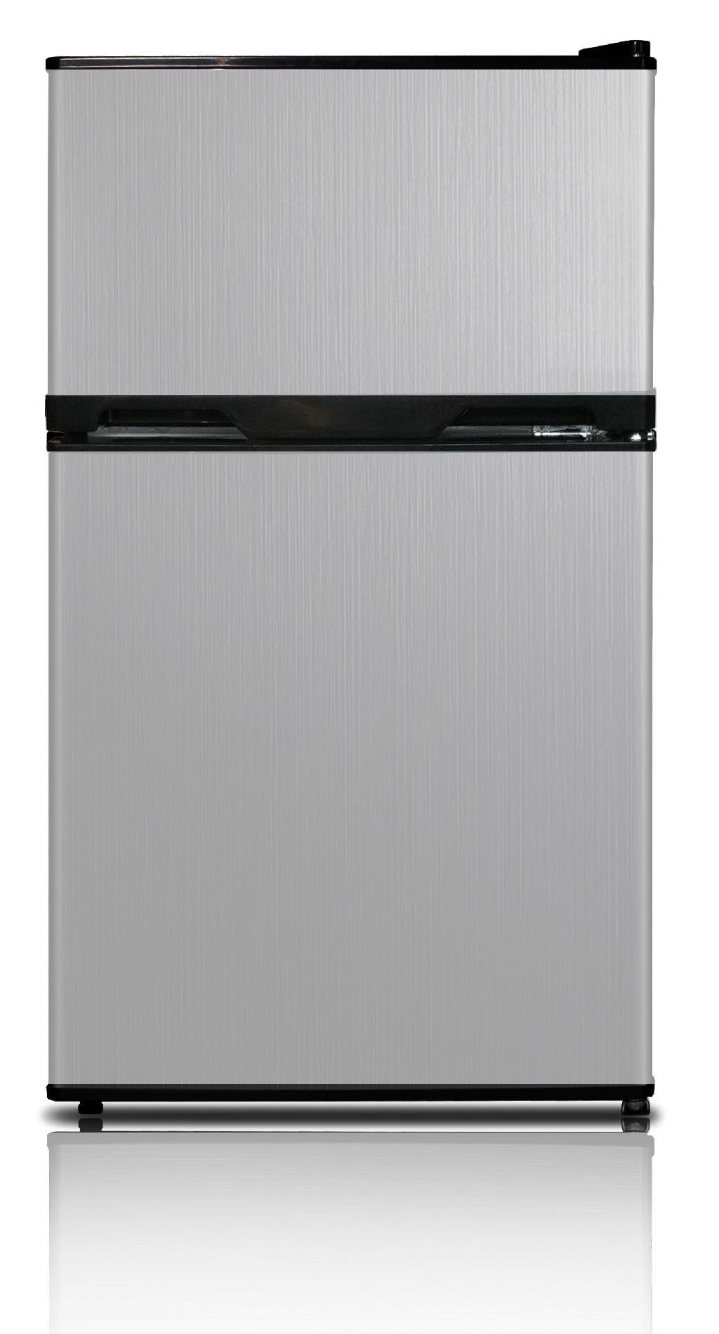 Kenmore 3.1 cu ft. 2-Door Compact Refrigerator, Stainless Steel ENERGY STAR® - Appliances - Refrigerators - Compact Refrigerators
