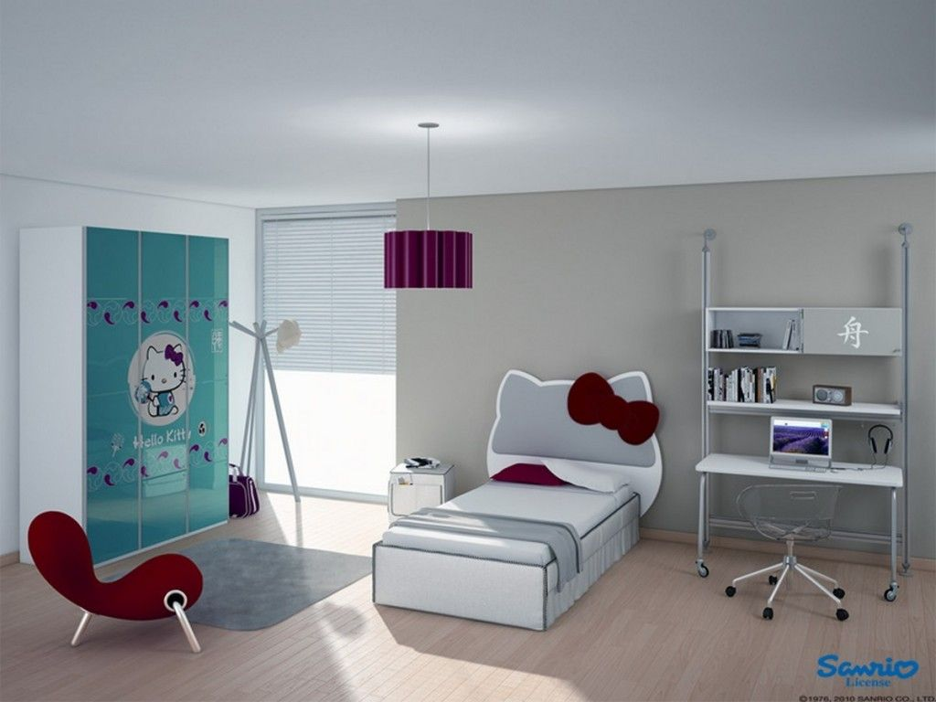 Modern Kids Bedroom Design Kids Room Modern Kid Bedroom Design With Hello Kitty Headboard
