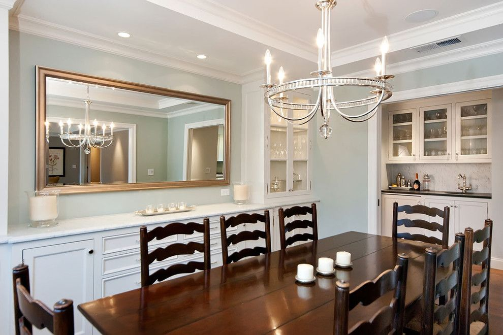 Jca Architects ranch remodel traditional dining room san francisco jca