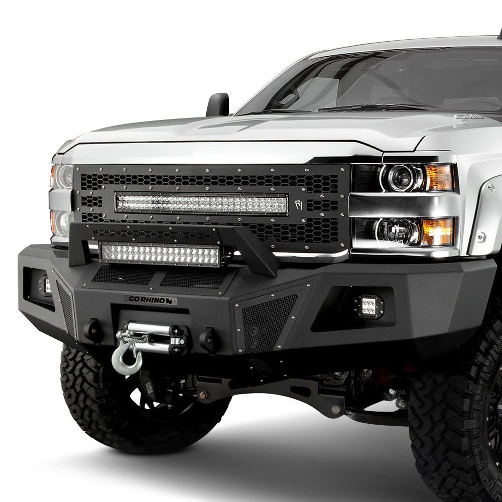 Details about For Chevy Silverado 2500 15-18 Bumper BR10