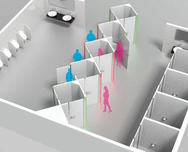 Unisex Public Toilet Module 2014 Interior Design Article