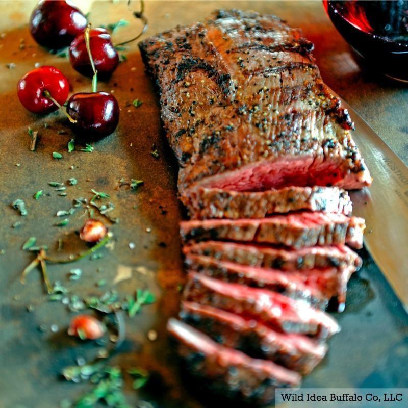 8 oz. Bison Teres Major Filet beefrecipes Cooking light