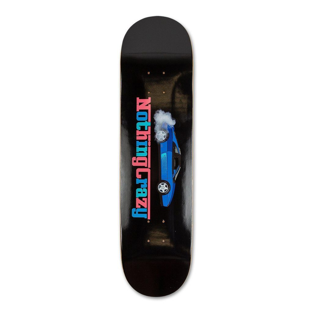 Nothing crazy x pink dolphin rari skateboard pink