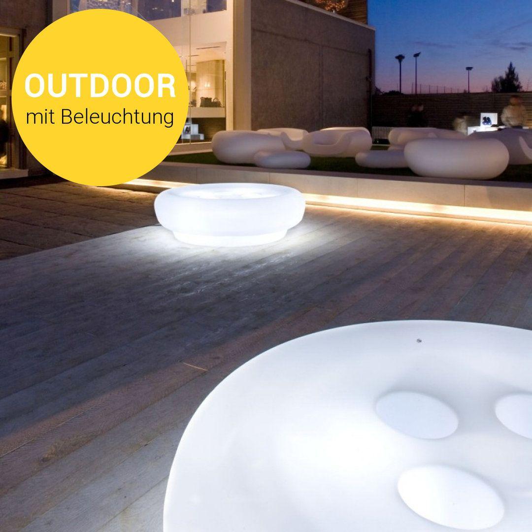 Slide Bot One Beleuchteter Tisch Lounge Design Beleuchtung Led Gluhbirnen