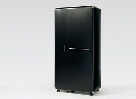 Great swiss furniture design: SHELL Kofferschrank | Behältermöbel ...