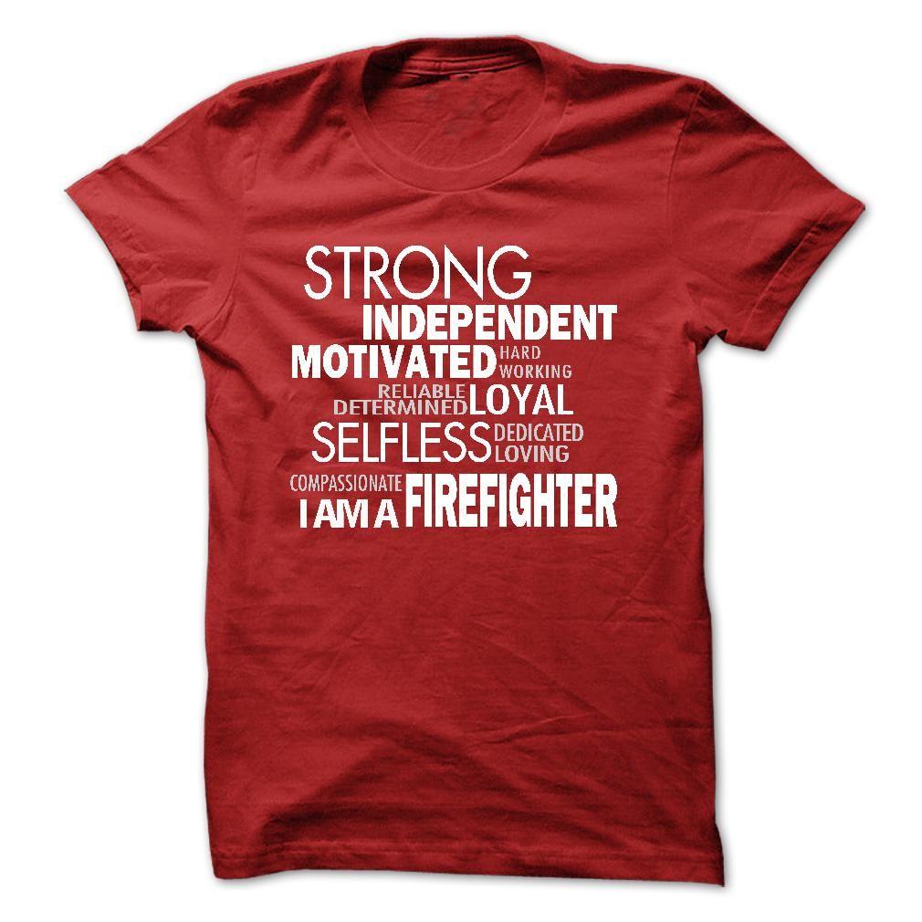 strong Firefighter2 T-Shirts, Hoodies. GET IT ==► https://www.sunfrog.com/LifeStyle/strong--Firefighter2.html?id=41382