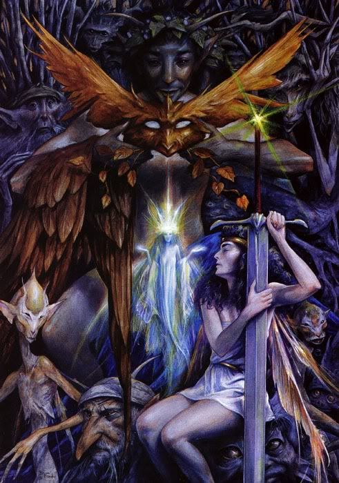 *+*Mystikal Faerie Folke*+*...By Artist and Author Brian Froud...