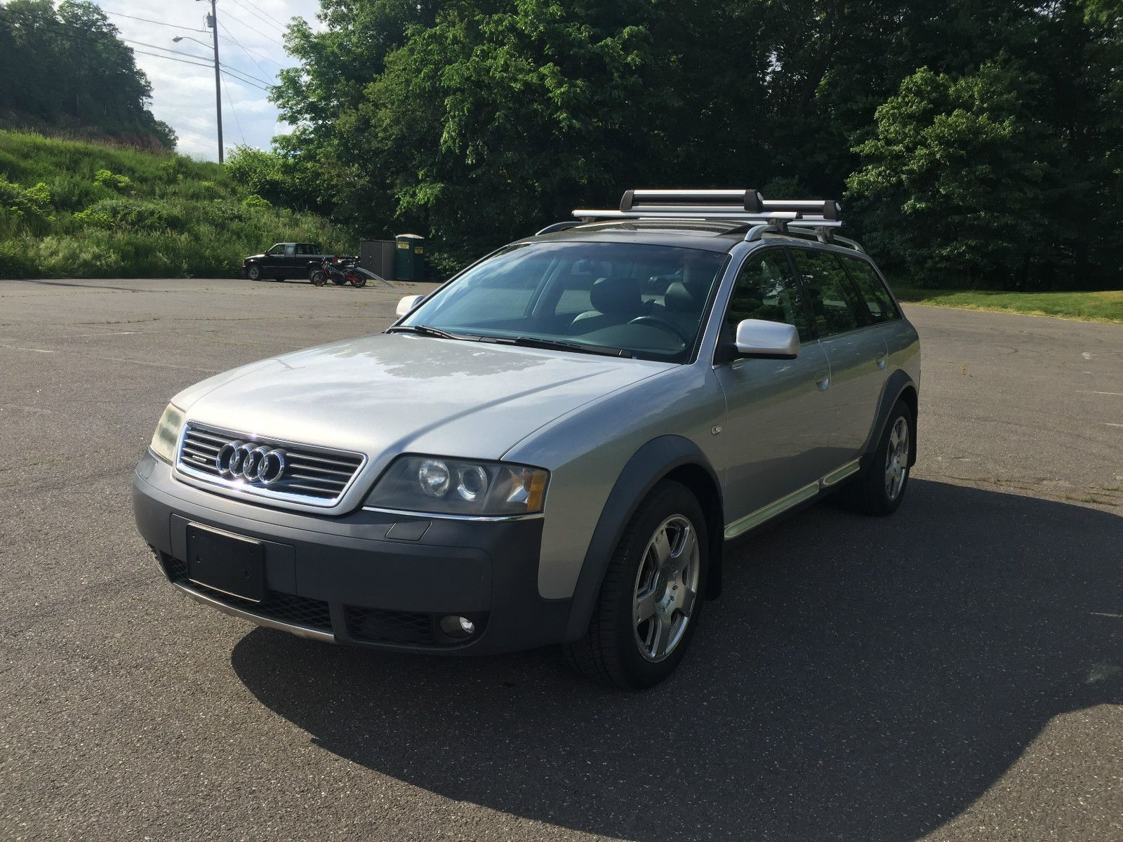 Awesome audi allroad base wagon 4 door 2004 audi allroad quattro navigation clean carfax