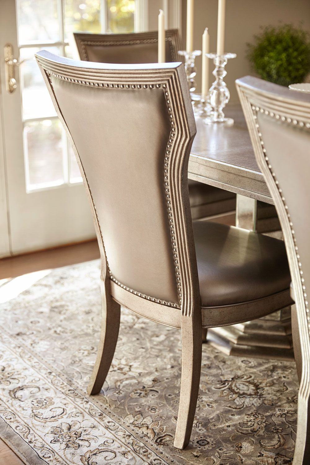 Angelina Dining Table And 4 Dining Chairs Dining Chairs Dining