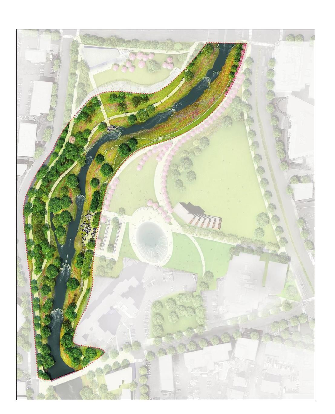 The Plan For Mill River Park