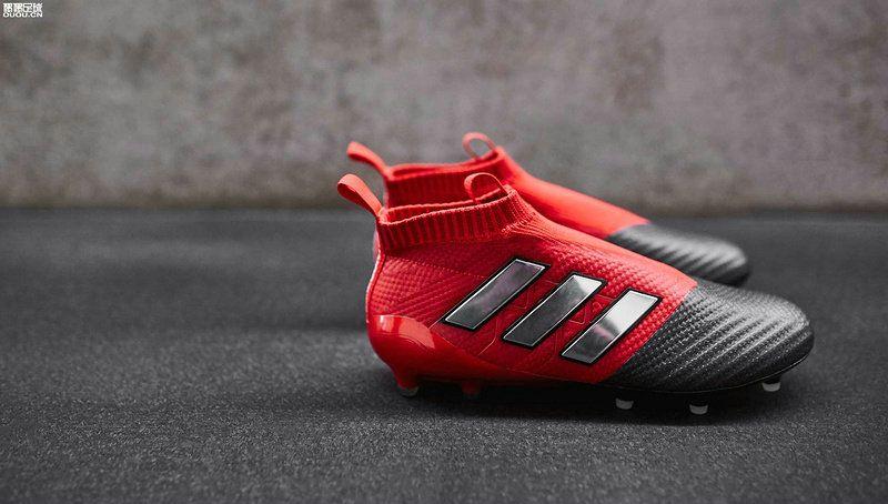 Adidas ACE 17+ Purecontrol FG 2018 World Cup Dragon Dragon Dragon Rød sliver Sort 5a054f
