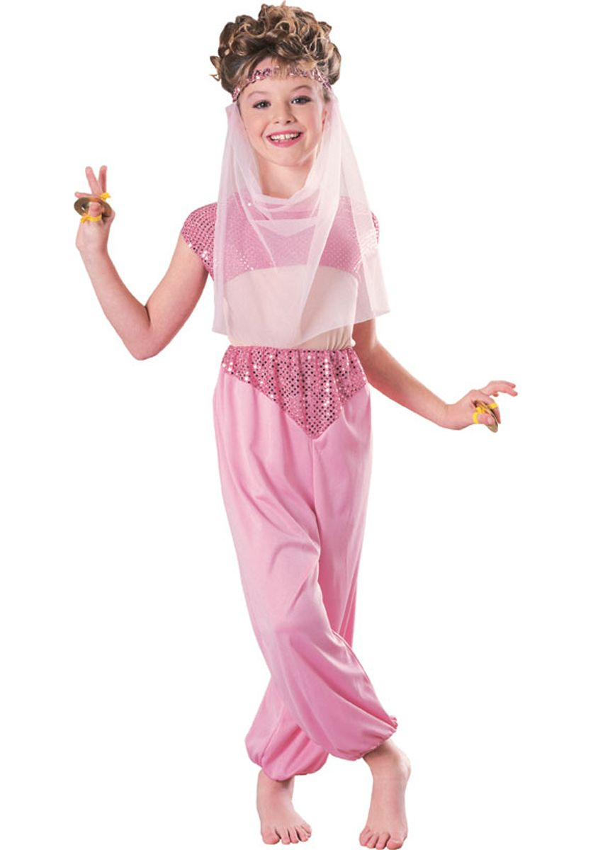 58f912862 Harem Girl Costume Pink - Child in 2019