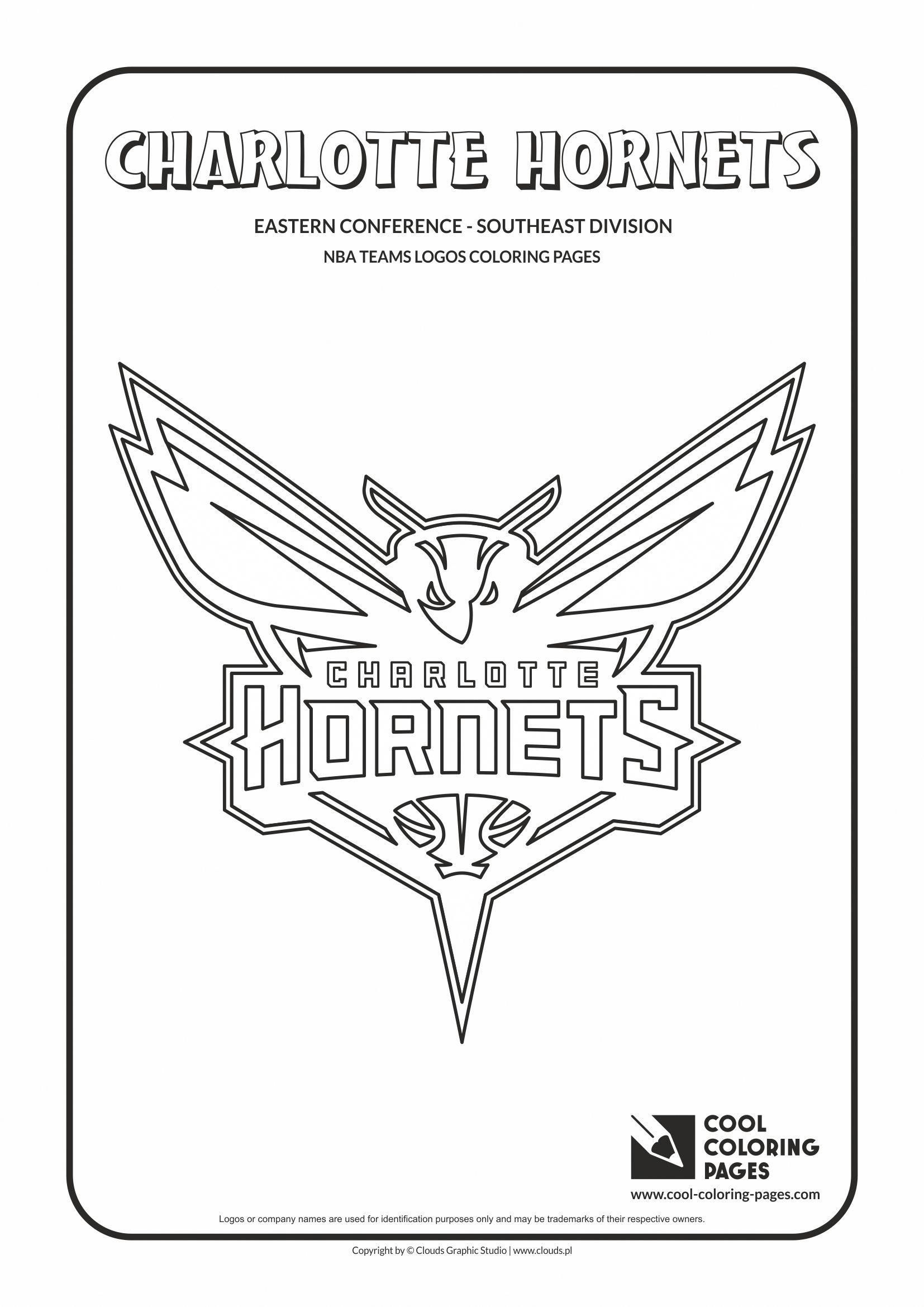 Cool Coloring Pages - NBA Basketball Clubs Logos - Easter Conference ...