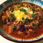 Sweet Pork Slow Cooker Chili - Add a little Woodchuck to your Chili!