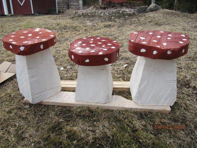 Sieni jakkarat lapsille.