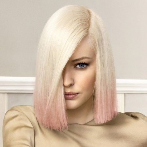 Relativ blond meches pastel - Recherche Google | Coiffure - mi-long  ES77