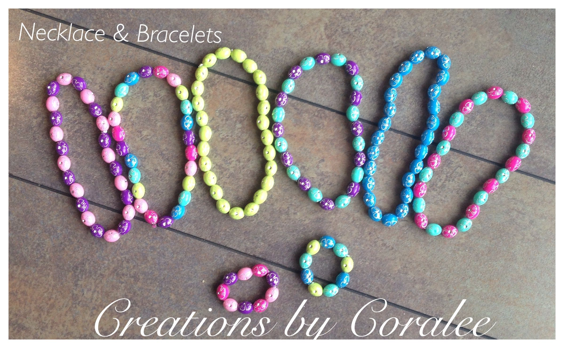 """Necklaces and Bracelets for 18"""" dolls"""