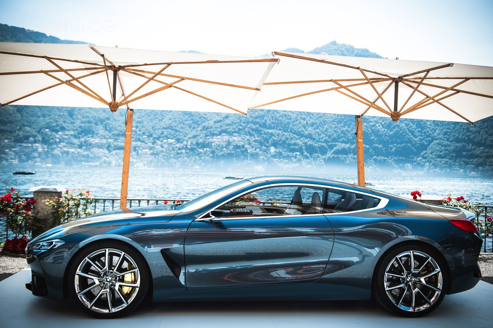 The best photo gallery of the bmw concept 8 series at villa d este