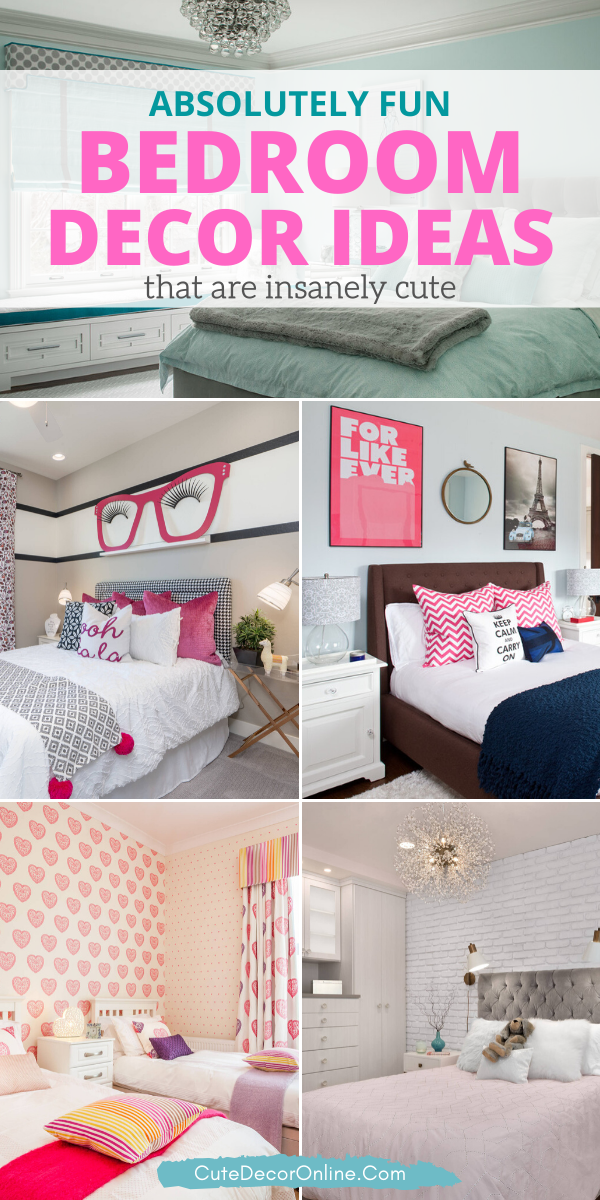 Bedroom Creator Online: 101 Absolutely Cute Bedroom Decor Ideas