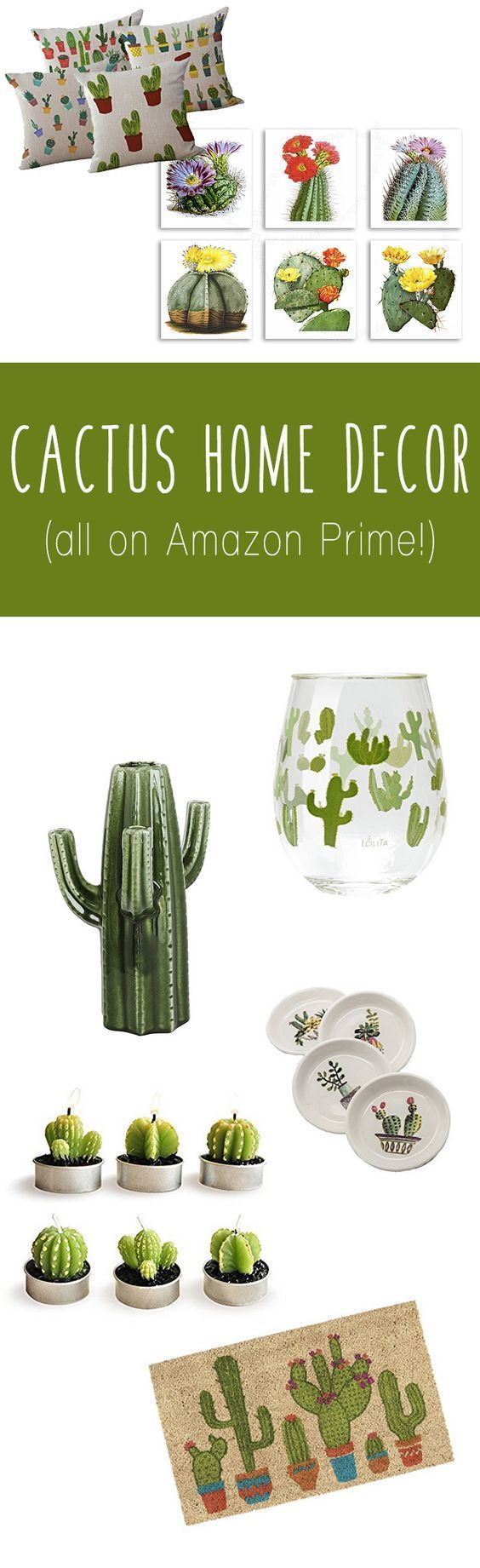 The Best Cactus Home Decor To Buy On Amazon Right Now