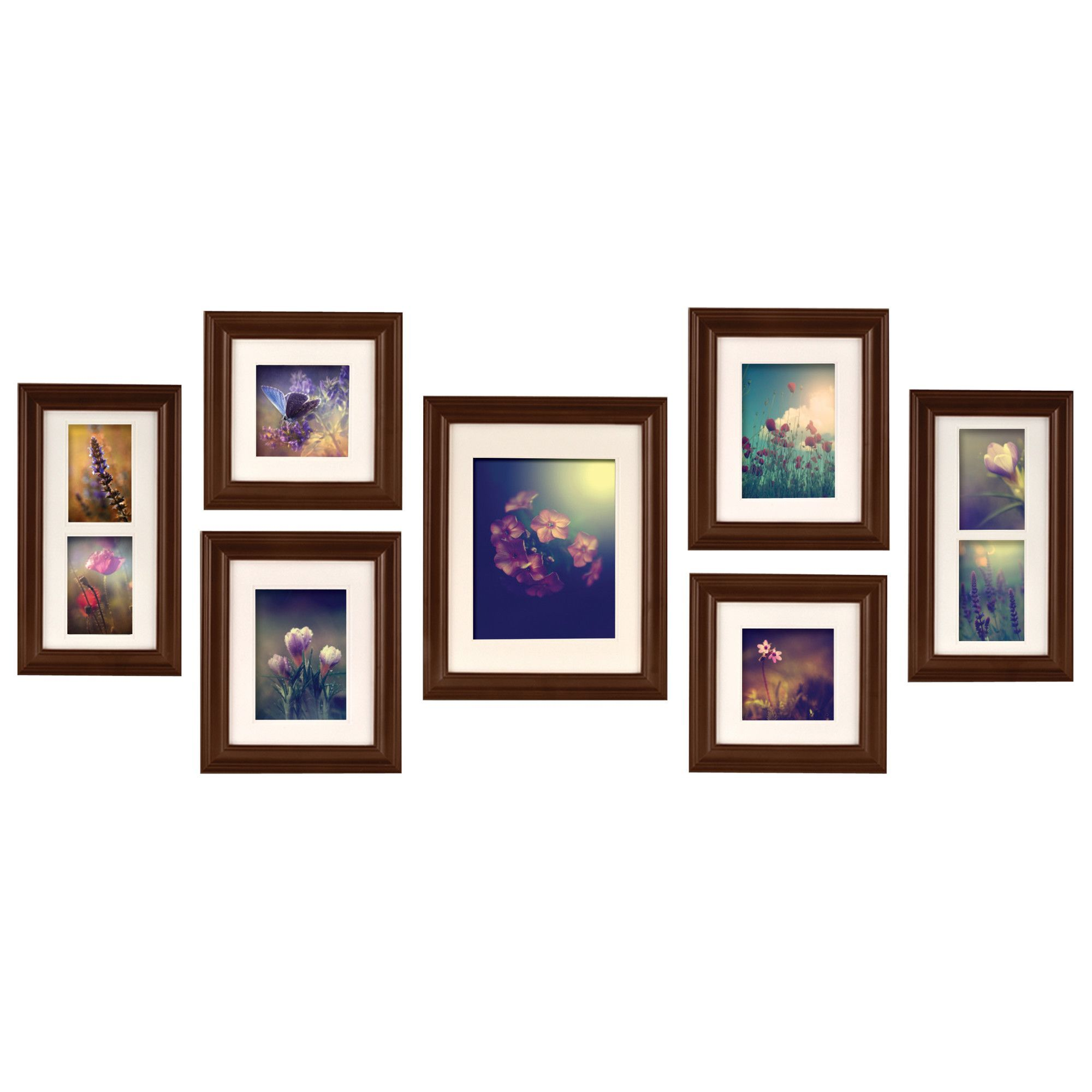 Found it at Wayfair - Gallery Perfect 7 Piece Create a Gallery Picture Frame Set