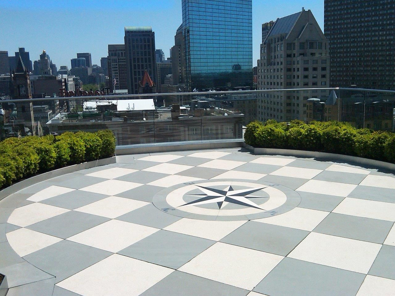 Boston roof top patio