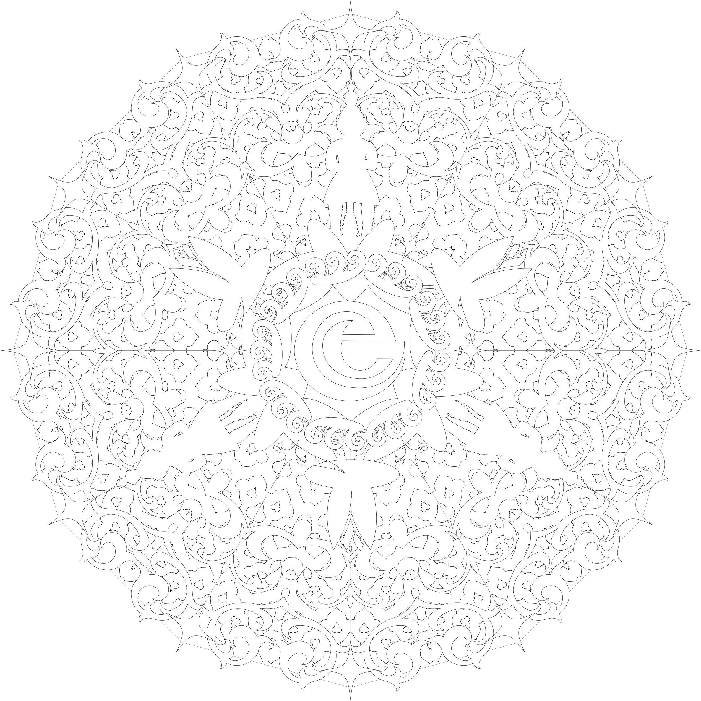 Kleurplaten Keltische Mandala.Luxe Mandala Kleurplaten Voor Volwassenen Gratis Klupaats Website