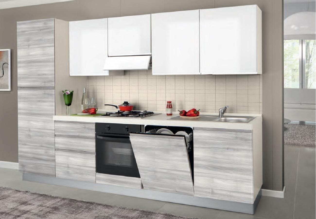 Cucina Kelly L 300 x H 216/240 Design cucine