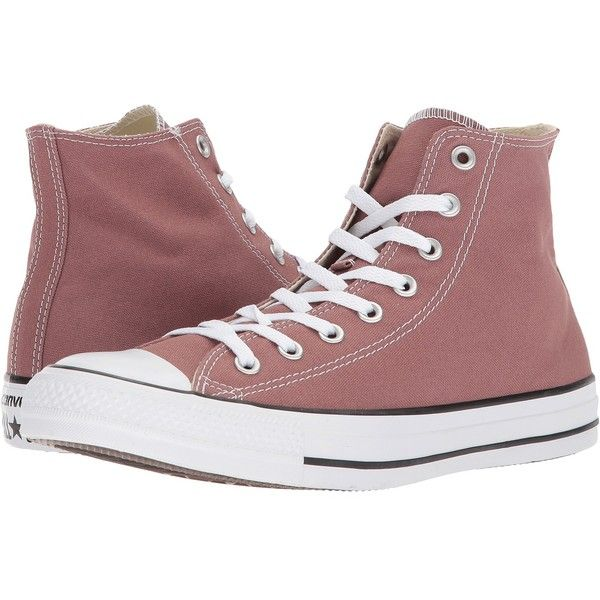 a7f32c0643e1dc Converse Chuck Taylor(r) All Star(r) Seasonal Color Hi (Saddle) Lace...  ( 45) ❤ liked on Polyvore featuring shoes