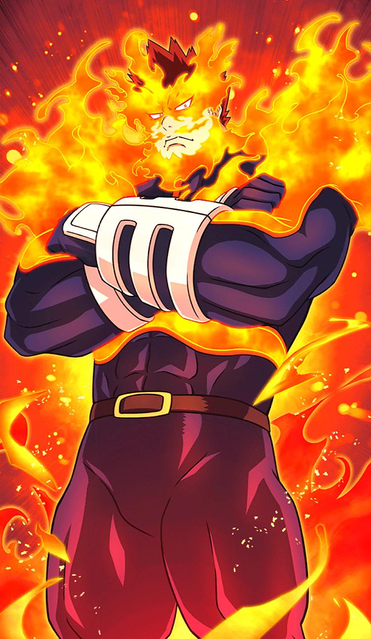 Endeavor My Hero My Hero Academia Episodes Hero Wallpaper