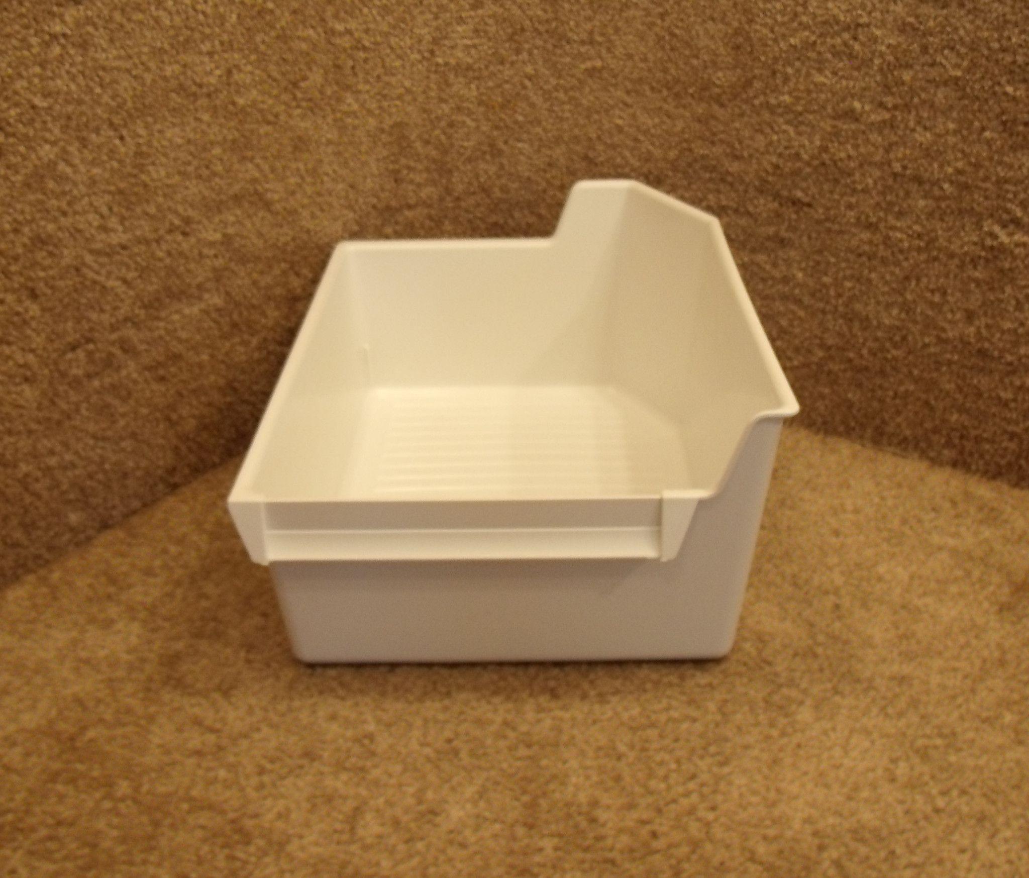 Whirlpool white ice products - 2166261 Whirlpool Refrigerator White Ice Bin