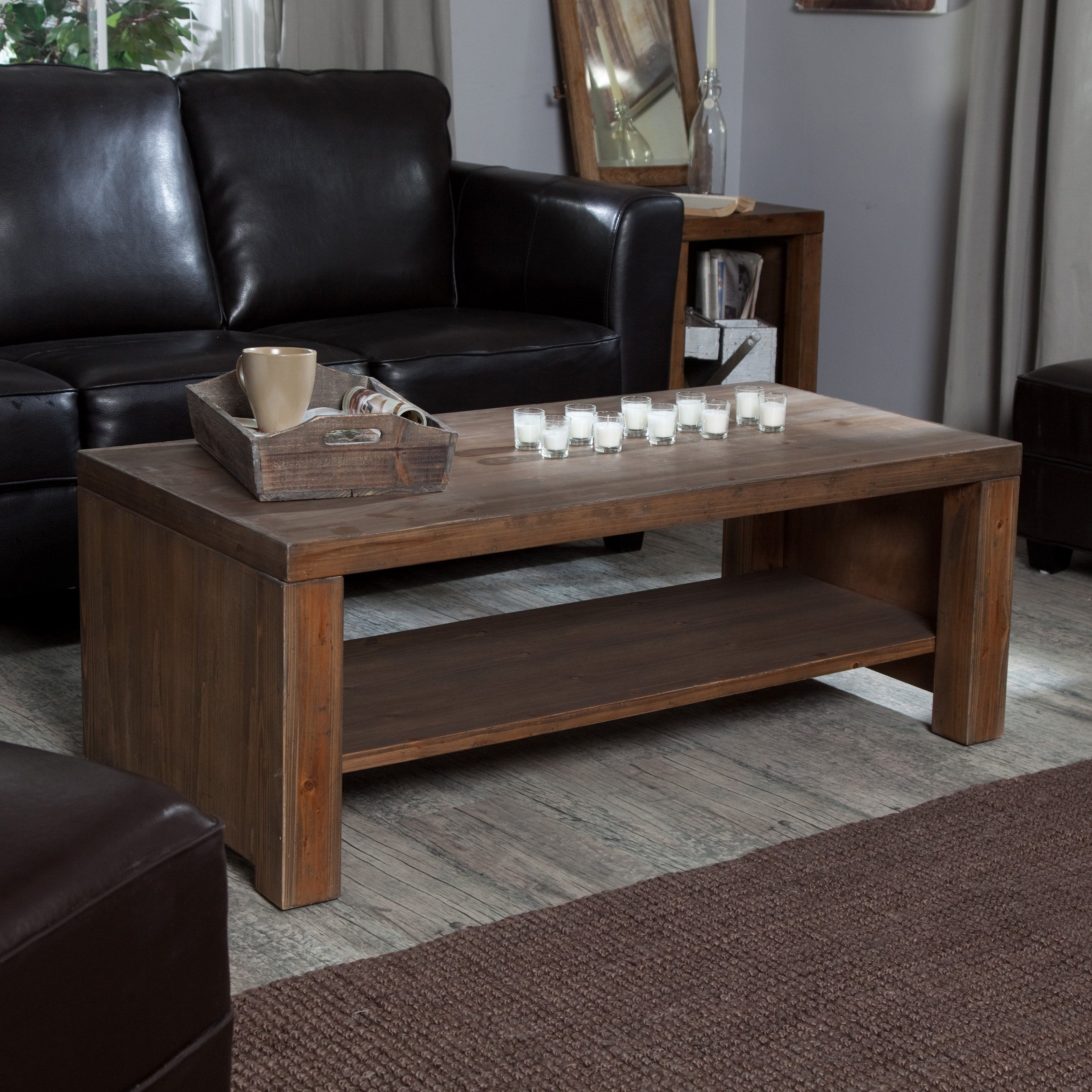 Have To Have It Brinfield Rustic Solid Wood Coffee Table 169 98 Rustic Is In Though This Might Be Solid Wood Coffee Table Coffee Table Coffee Table Design [ 3200 x 3200 Pixel ]