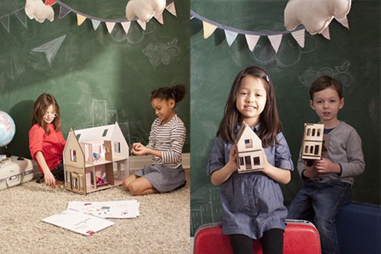 Lille Huset creative design-your-own-interior Dollhouses - so beautiful!
