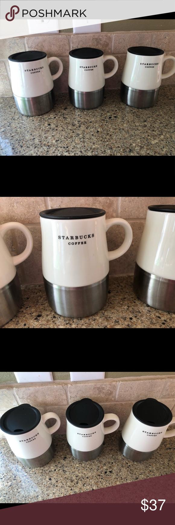 2006 Microwave Starbucks Mug Travel Stainless Steelceramic WrBdoexQC