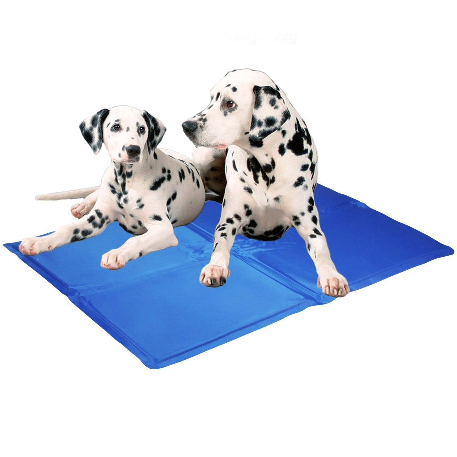 Kingstar Pet Chilly Gel Mat Premium Folding Soft Comfort Bed Self Cooling Pad For Dogs Cats Different Sizes Unbeli Dog Cooling Mat Pet Cooling Mat Pet Pads